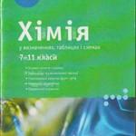 Бочеваров А. Д. Хімія у визначеннях, таблицях і схемах: Довідковоий посібник: 7—11 класи  ОНЛАЙН