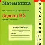Посицельская М.А., Посицельский С. Е. ЕГЭ 2012. Математика. Задача В2. Графики и диаграммы. Рабочая тетрадь