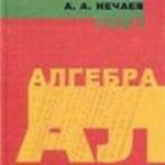 Глухов М. M., Елизаров В. П., Нечаев А. А. Алгебра: Учебник В 2-х томах. Том 1 ОНЛАЙН